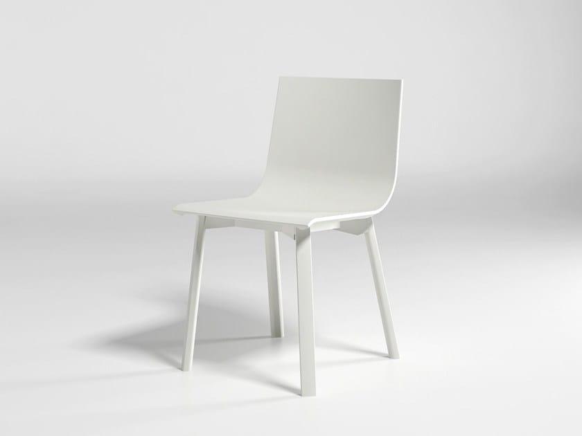 Polyurethane garden chair STACK SYSTEM CHAIR 5 - GANDIA BLASCO