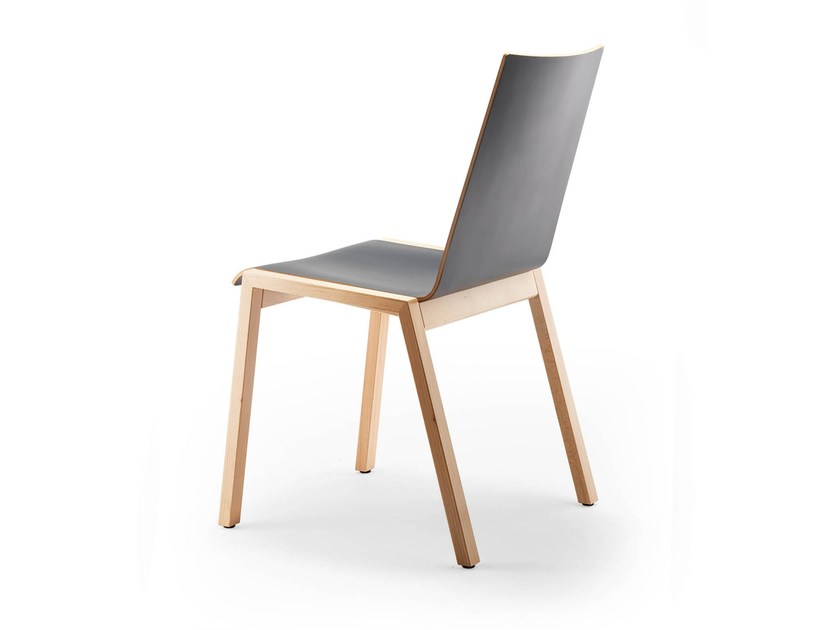 Stackable chair PAN | Stackable chair by rosconi
