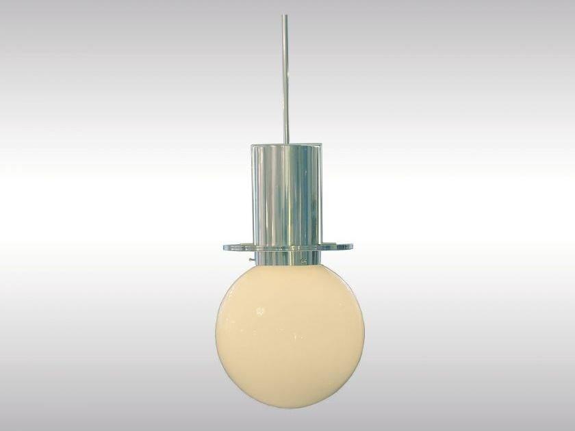 Classic style brass pendant lamp STADTBAHN - Woka Lamps Vienna