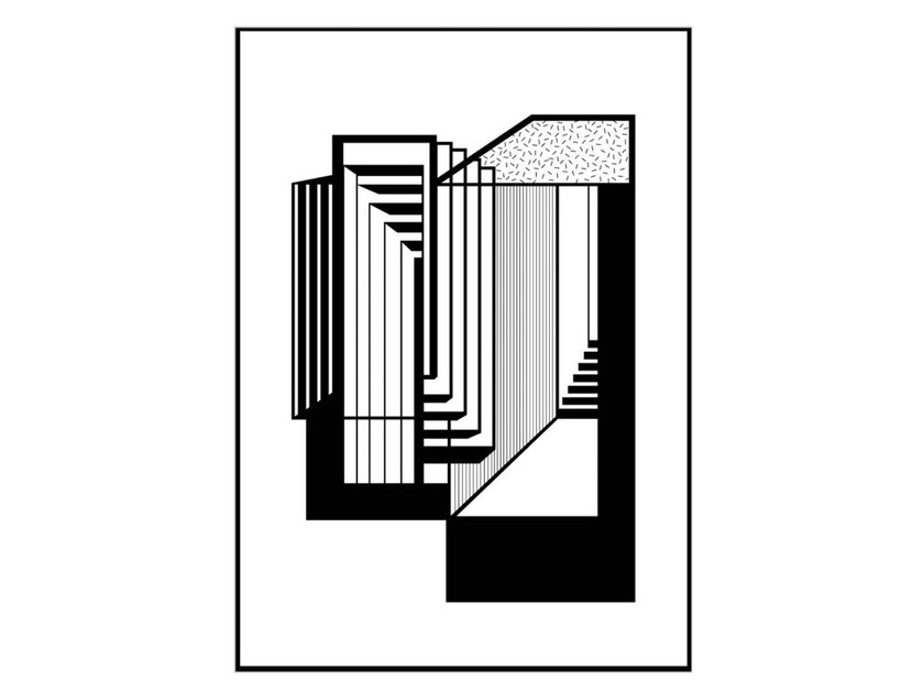 Poster STAIRS - Kristina Dam Studio