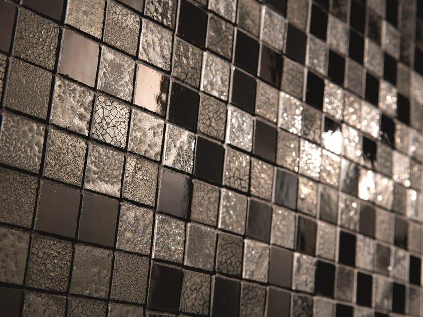 Full-body porcelain stoneware mosaic STAR MIX by AREZIA