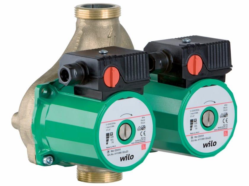 Pompa doppia di circolazione a rotore bagnato STAR ZD by WILO Italia