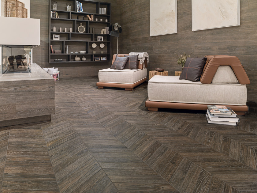 Porcelain stoneware wall/floor tiles with wood effect STARWOOD - EDEN by Porcelanosa