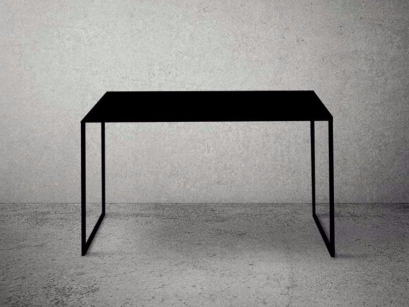Rectangular steel console table STEEL FRAME | Console table - Baltic Promo