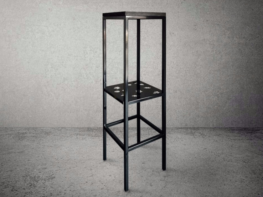 Square steel high table STEEL FRAME | High table - Baltic Promo