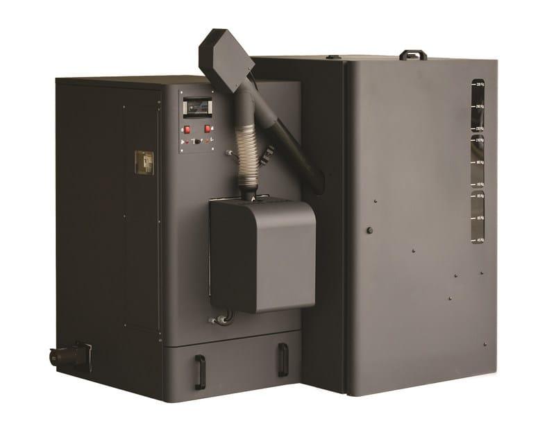 Pellet floor-standing boiler STEEL PELLET PLUS - Sime