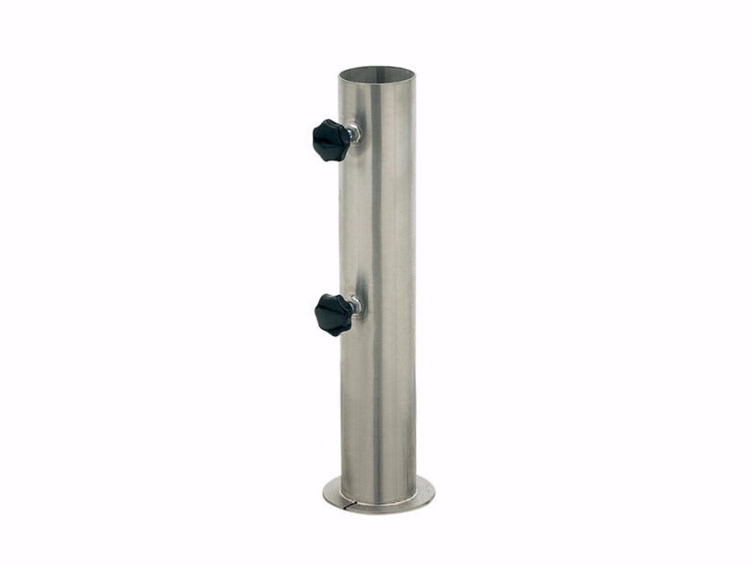 Stainless steel Parasol base TUBE - ROYAL BOTANIA