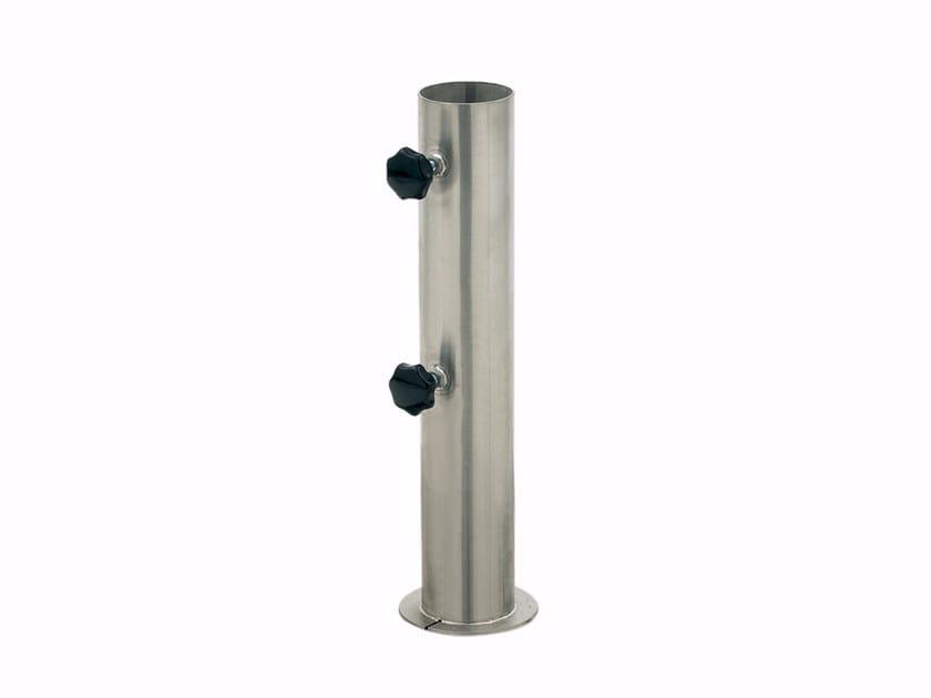 Base per ombrellone in acciaio inox TUBE - ROYAL BOTANIA