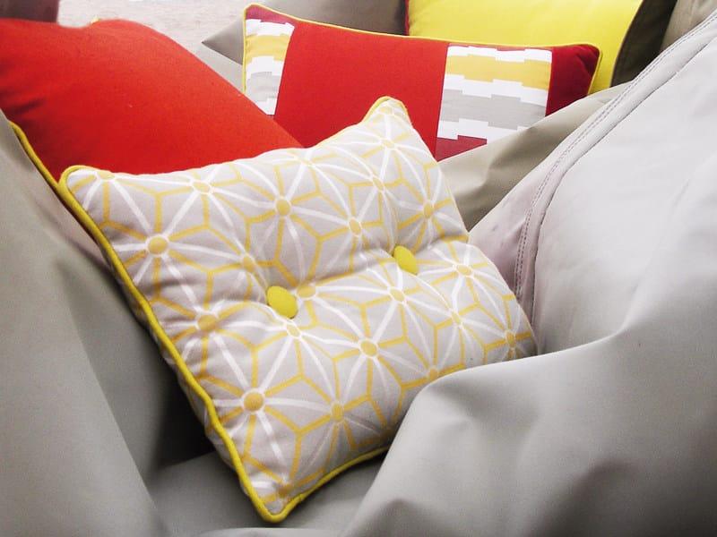 Jacquard fabric with graphic pattern STEILA - l'Opificio