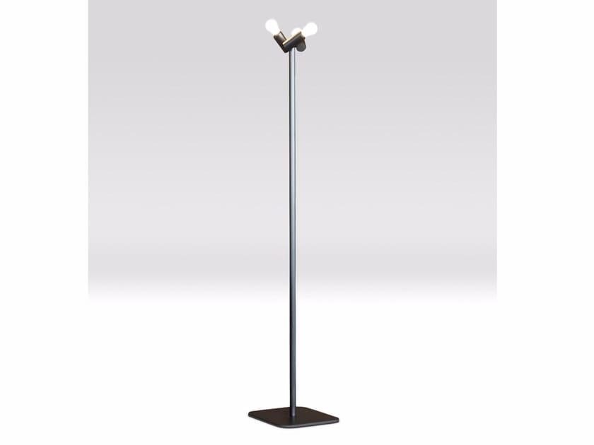 Steel floor lamp STELO - Paolo Castelli