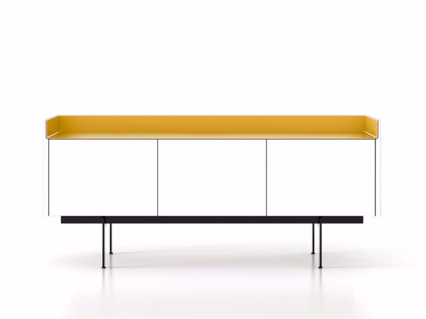 Wooden sideboard with doors STH311 | Sideboard - Punt