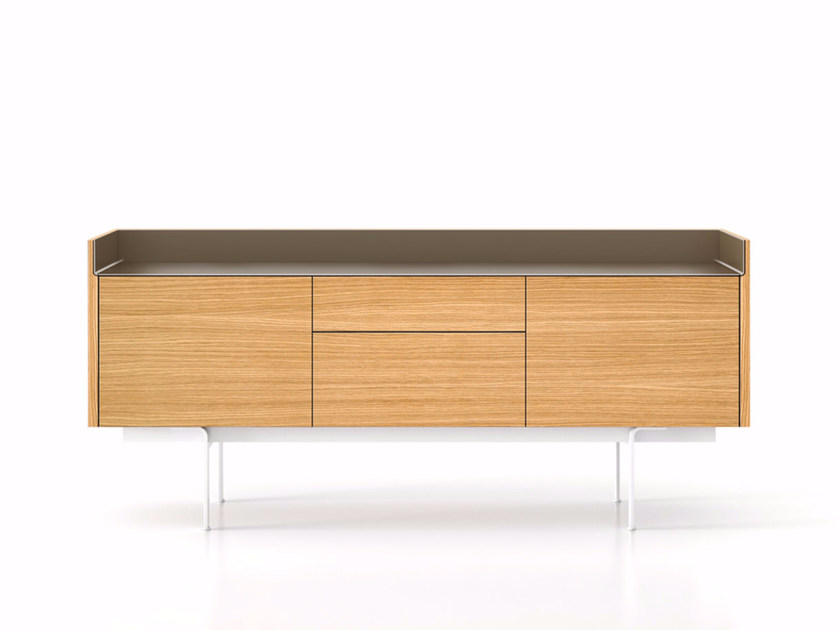 Wooden sideboard with drawers STH312 | Sideboard with doors - Punt