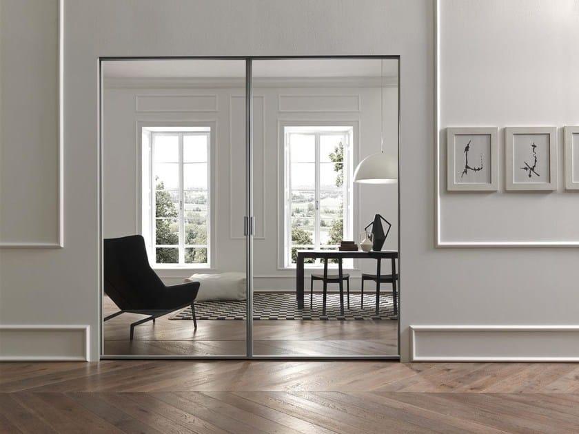 Glass sliding door STIKLA | Sliding door by Door 2000