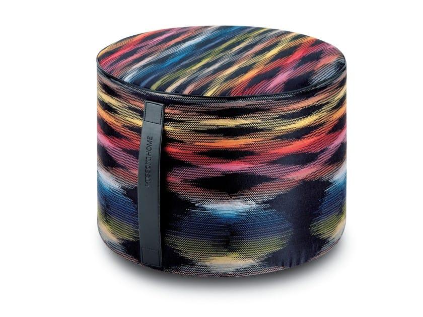 Fabric pouf STOCCARDA | Pouf - MissoniHome