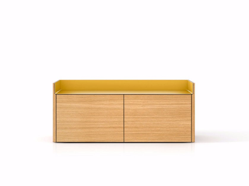 Wooden sideboard with doors STH201 | Wooden sideboard - Punt