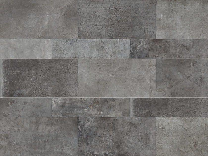 Rivestimento / pavimento in gres porcellanato a tutta massa STONE AGE Basalto - Italgraniti