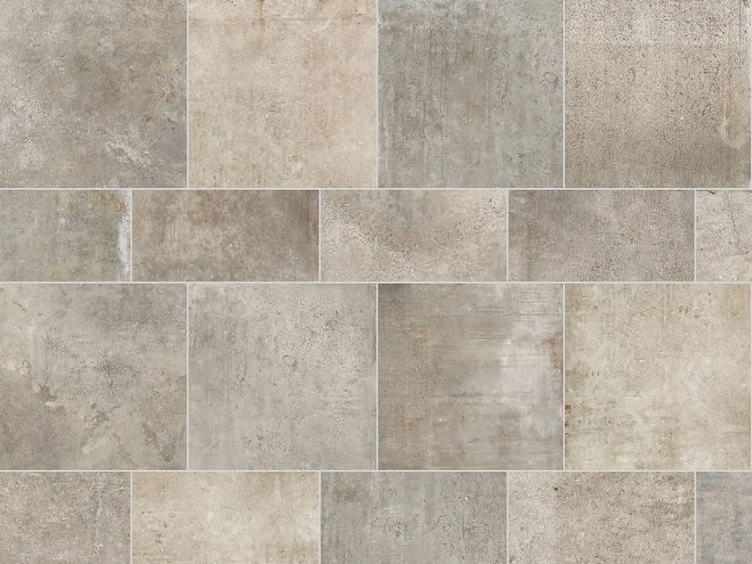 Full-body porcelain stoneware wall tiles / flooring STONE AGE Montpellier by Italgraniti