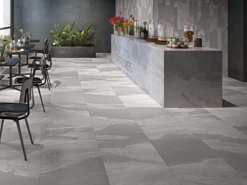 Porcelain stoneware wall/floor tiles STONEWORK by Ceramiche Supergres