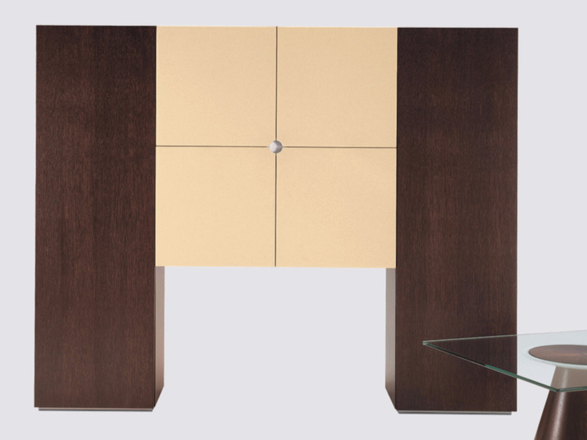 Wood veneer highboard with doors 16GRADI | Highboard by ARTOM by Ultom