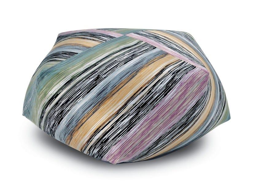 Pouf-diamante in tessuto STRASBURGO | Pouf - MissoniHome