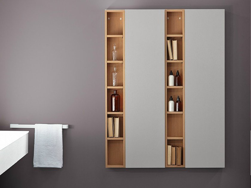 Suspended bathroom cabinet STRATO | Bathroom cabinet - INBANI