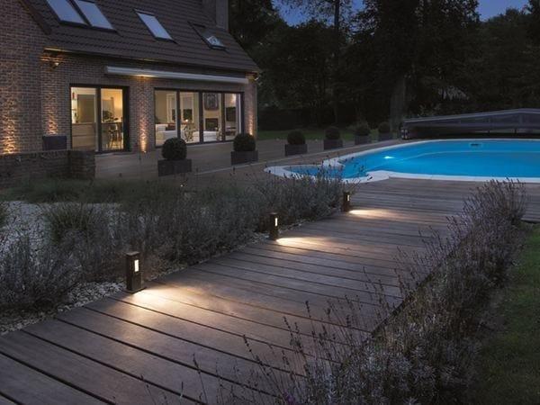 LED aluminium bollard light STRATO - BEL-LIGHTING