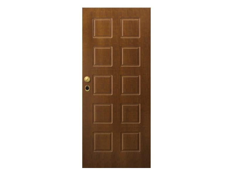 Door panel for outdoor use STRATO MOD.41 - Metalnova