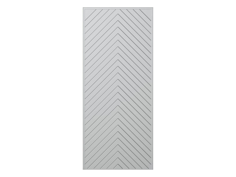 Door panel for outdoor use STRATO MOD.71 - Metalnova