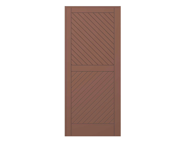 Door panel for outdoor use STRATO MOD.75 by Metalnova