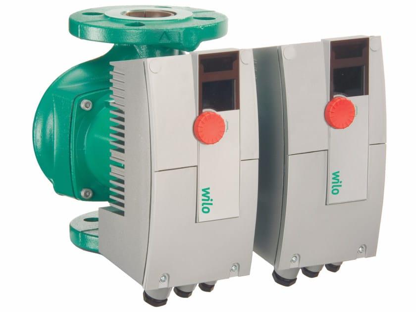Pompa doppia di circolazione a rotore bagnato STRATOS ZD - WILO Italia