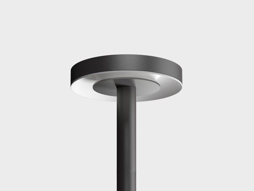LED garden lamp post EKLEIPSIS POST TOP - Cariboni group