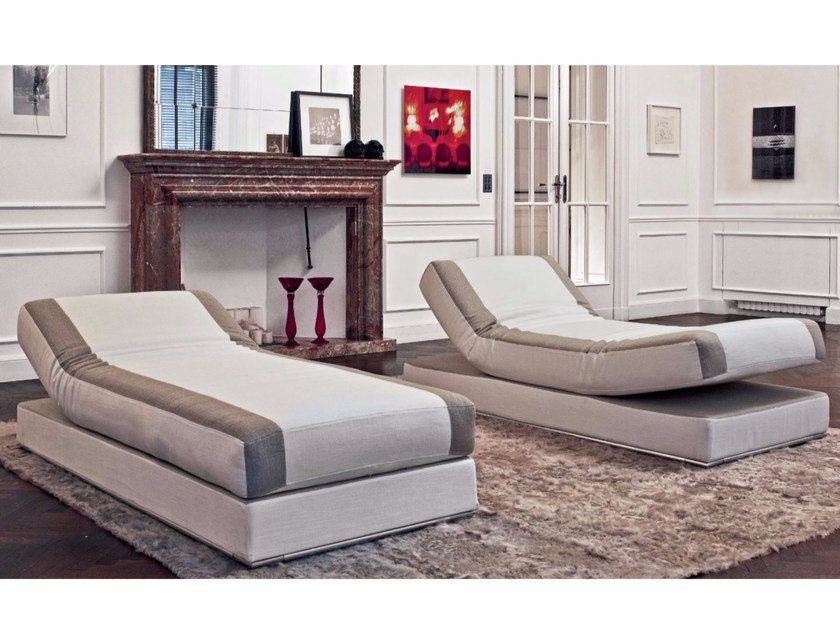 Fabric day bed STRIKE | Day bed by Longhi