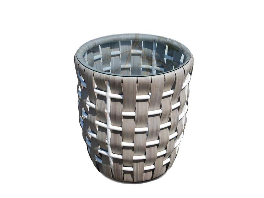 Tavolino alto rotondo per contract STRIPS 22915 - SKYLINE design