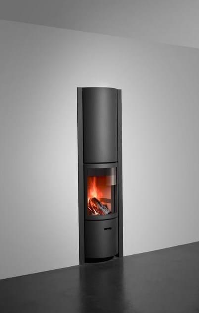 Wood-burning swivel steel stove STÛV 30-IN B - Stûv