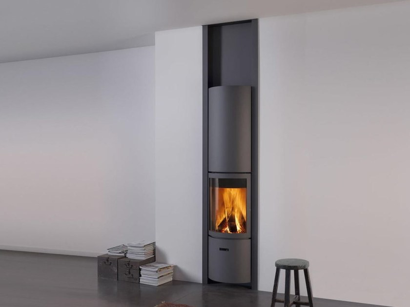 Wood-burning swivel steel stove STÛV 30-IN R - Stûv