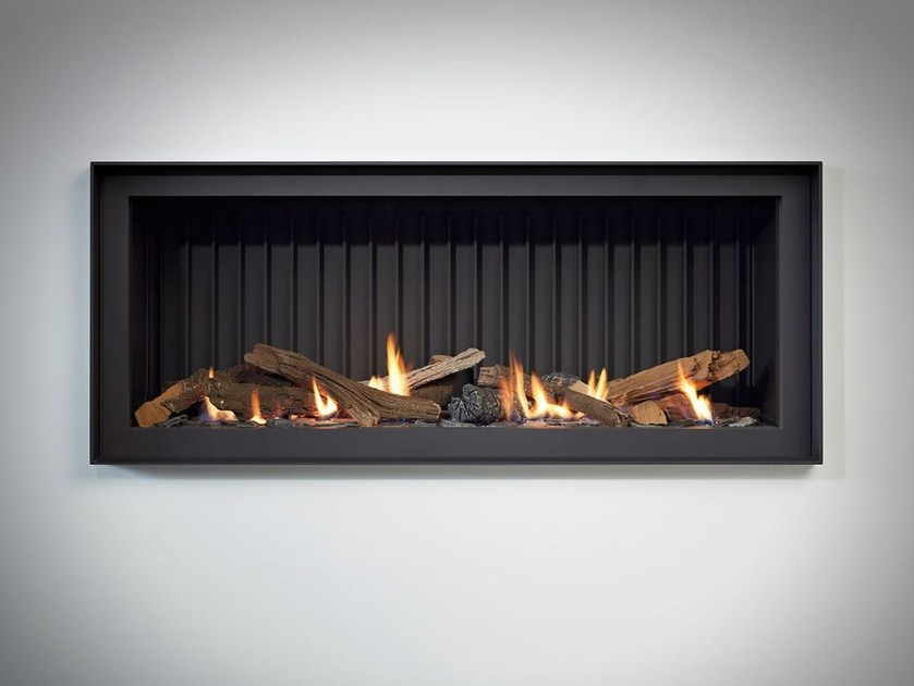 Gas built-in steel fireplace STÛV B-100 PB - Stûv