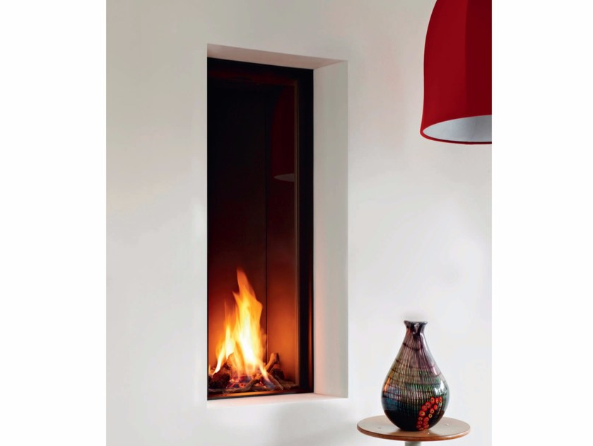Gas wall-mounted fireplace STÛV B-35 | Fireplace - Stûv