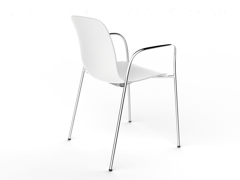 Chair with armrests SUBSTANCE | Chair with armrests - Magis
