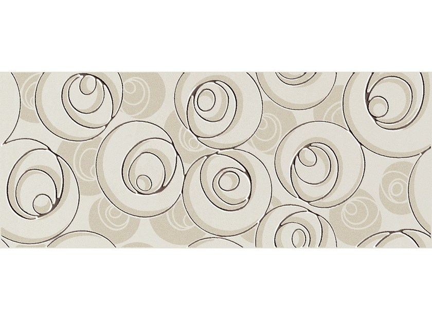 White-paste wall tiles SUITE CURL MOKA - CERAMICHE BRENNERO