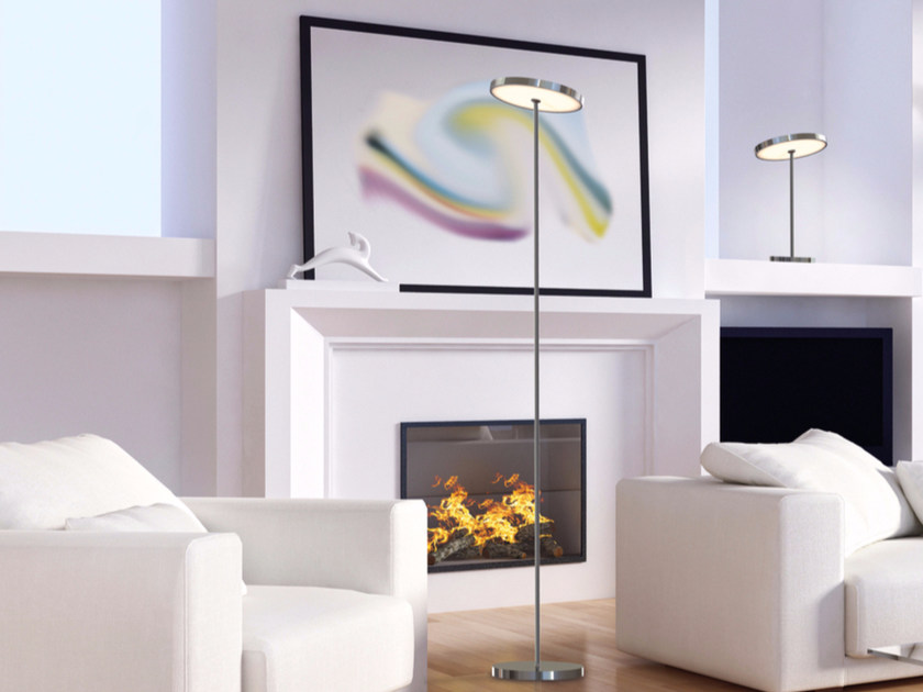 LED adjustable floor lamp SUN FLOOR DOWN LIGHT - Top Light