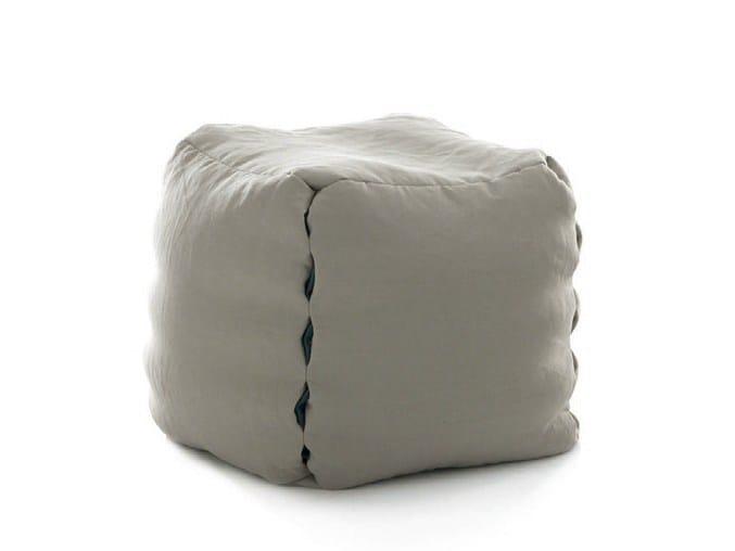 Upholstered pouf SUN | Pouf - Bolzan Letti