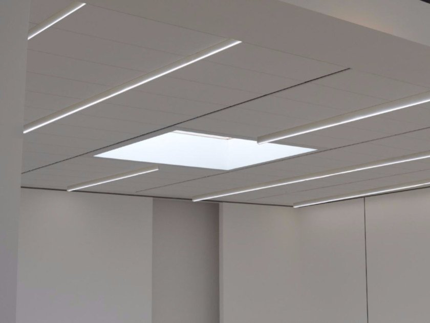 LED direct light ceiling lamp SUN SYSTEM | Ceiling lamp - GLIP by S.I.L.E