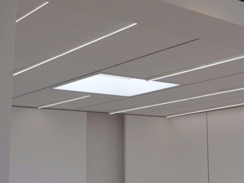 LED direct light ceiling lamp SUN SYSTEM | Ceiling lamp - GLIP by S.I.L.E