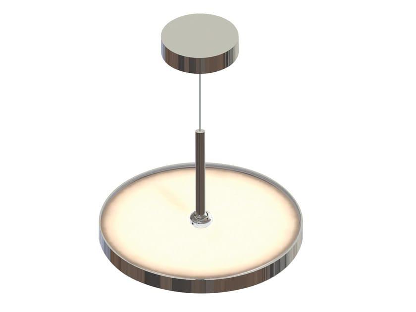 Lampada a sospensione a LED in metallo SUN CEILING - Top Light