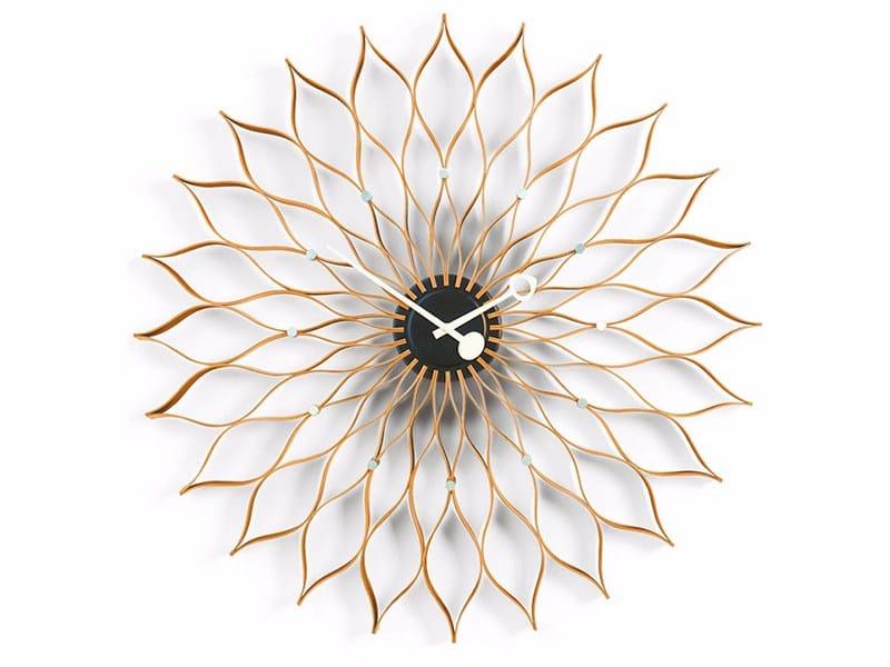 Wall-mounted clock SUNFLOWER CLOCK by Vitra