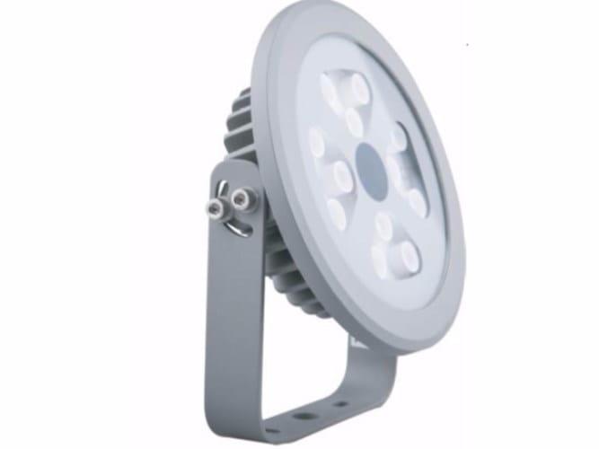LED adjustable Outdoor floodlight SUNNY 12 - TEKNI-LED