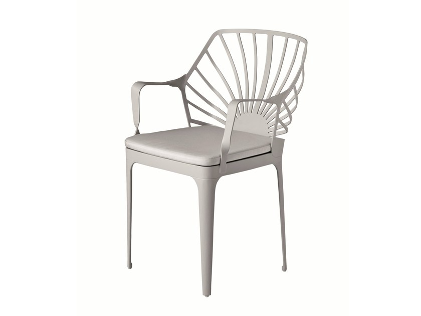 Chair with armrests SUNRISE - Driade