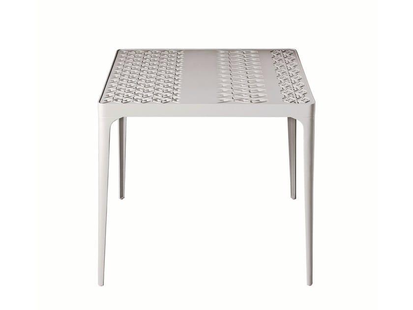 Square table SUNRISE - Driade