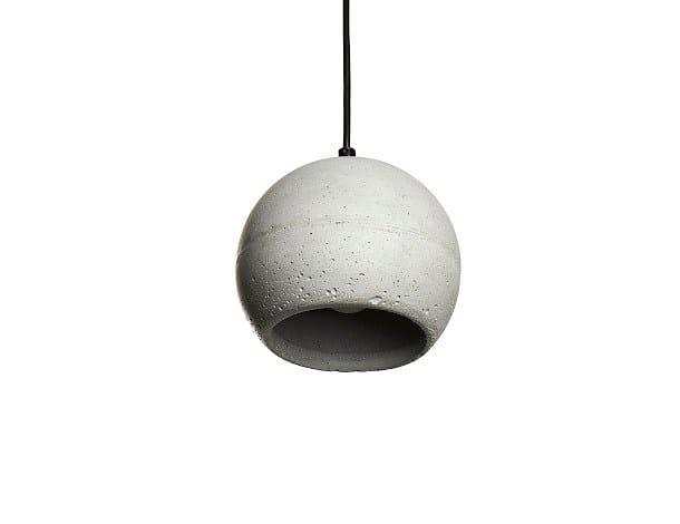 Concrete pendant lamp SUPERFLY - URBI et ORBI