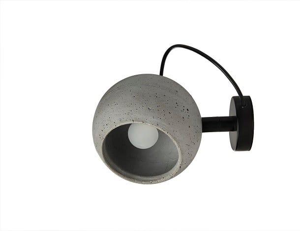 Swivel concrete wall lamp SUPERFLY W - URBI et ORBI